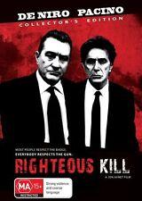 Righteous Kill (DVD, 2009, 2-Disc Set)
