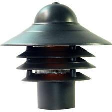 Mariner Matte Black Outdoor Post-Mount Light Fixture