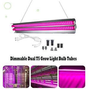 3000W Plant T5 LED Grow Light 2FT Full Spectrum For Indoor Veg Flower Tubes Lamp