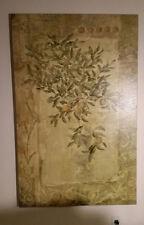 "Oranger Sur Fresque F De Villeneuve Art 59""x38"" Signed/Numbered 995/1000 Giclee"