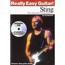 Really Easy Guitar!: Sting by Bennett, Joe | Paperback Book | 9780711991842 | NE