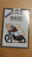 DUCATI CLYMER WORK SHOP MANUAL 160 250 350 450 SINGLES - THROUGH 1974