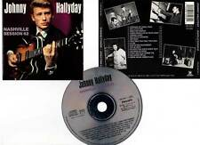 "JOHNNY HALLYDAY ""Nashville Session 62"" (CD) 1990"