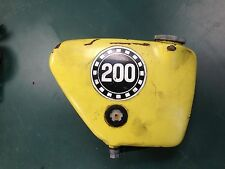 1971 Bridgestone 200 RS Mach II Oil Tank Side Cover  Cap Oil Injection