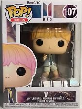 New ListingFunko Pop! Rocks 107 V Bts w/Protector Box 9/10