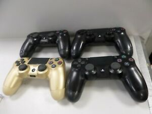4x Faulty Ps4 Control Pads (122251/122421)