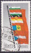 DDR Mi.-Nr. 2507 gestempelt 20 Pf. 25 Jahre Warschauer Vertrag