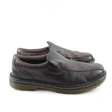 Dr.Martens Norfolk Mens Size 11 Slip Resistant Slip On Shoes Loafers Work Brown