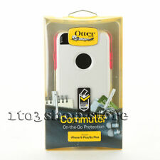 OtterBox Commuter 2-Layers Case For iPhone 6 Plus iPhone 6s Plus White/Pink New
