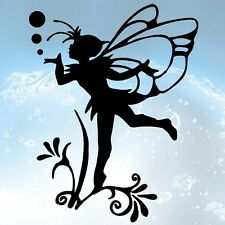 FLORAL FAIRY Sticker 207X267mm Vinyl Graphic Car-van laptop Wall