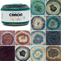 Caron Big Cakes Aran Yarn Knitting Crochet Crafts 300g Ball