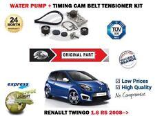 Pour Renault Twingo 1.6 Rs 2008-2014 Eau Pompe + Tendeur Courroie Distribution