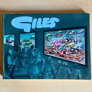 Giles Cartoon Annual 12th Twelfth Series 1957-58 Daily Express Good Unclipped