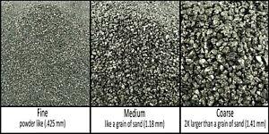 Natural Pure Iron Pyrite - Crushed Inlay Stone (fine, medium, or coarse)