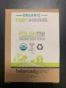 BALANCED GURU    POLISH ME ORGANIC BODY SCRUB    8 OZ