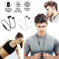 Wireless Bluetooth Earphones Headphones Running Sport Gym For Huawei Google