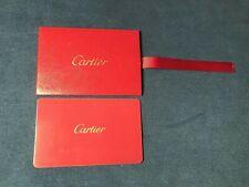 Cartier Warranty Card