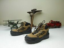 WORKLOAD STEEL TOE WORK & SAFETY LACE UP ANKLE BOOTS SIZE 6