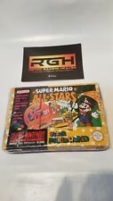 SUPER MARIO ALL-STARS + WORLD SUPER NINTENDO SNES FACTORY SEALED RED STRIP SEAL