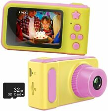"Kids Digital Camera with 32GB SD Card,1080P HD Video Recorder,2"" LCD Screen"