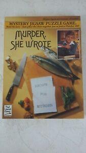 Murder She Wrote Jigsaw Puzzle Jessica Fletcher Angela Lansbury 550 Pieces S144