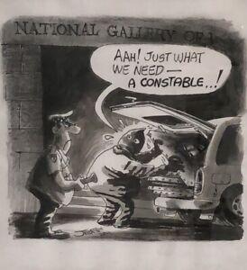 Original Cartoon - Geoffrey Raynor Hook OAM (1928 – 2018) Signed & Dated 2011