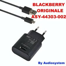 CARICA BATTERIA ORIGINALE BLACKBERRY Q20 CLASSIC PASSPORT 9700 9930+CAVETTO 1M