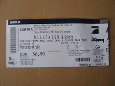 Nightwish Endless Forms Most Beautiful Europe Tour Ticket Stuttgart 03.12.2015
