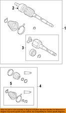 Pontiac GM OEM Vibe-Front Drive Axle CV Constant Velocity Boot Kit 19204681