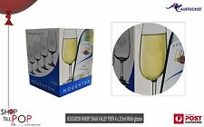 Houghtons Winery 4 Pack of  Etched Wine Glasses Perth Swan Valley BNIB 215mls