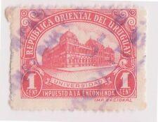 (UGA-183) 1945 Uruguay 1c red Parcel post (A)