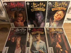 BUFFY THE VAMPIRE SLAYER Comic Books (Photo Covers) 1-63 Complete Set Run