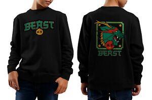 DRAGON BEAST Sweatshirt Kids Mr Beast Sweatshirt Youth Merch Dragon Sweatshirt
