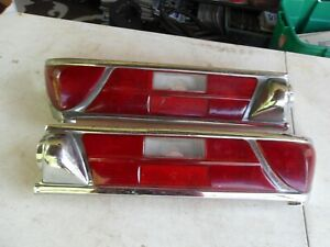 1959-68 MERCEDES BENZ W111 220 280 300 K13325 LEFT & RIGHT TAIL LIGHTS LENS ONLY