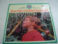 Freue Dich,'s Christkind Kommt Bald - Import - Excellent Cond -