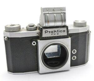 Pentacon Praktica FX 2 Analog Spiegelreflex Kamera Gehäuse SLR Camera Body f22