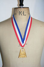 1983 SENIOR OLYMPICS MEDAL and Ribbon. Youth Eternal. Valentines Gift