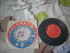"""a941981 Teresa Teng Hong Kong 7"""" 鄧麗君 1974 Debut Japanese Single 今夜かしら明日かしら  雨にぬれた花 DR1835 Made in Hong Kong"""