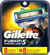Gillette Fusion Proglide Men Razor Blade Refills 8 Count Factory Sealed
