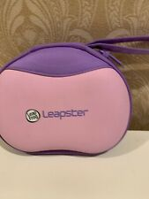 Leapfrog Leapster 2 Handheld Game System With  Pink Purple Carrying Case