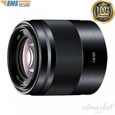 SONY SEL50F18-B single focus lens E 50mm F1.8 OSS APS-C format from JAPAN EMS