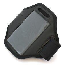 Sportarmband Armband Tasche Sport Jogging Armtasche Fitness Case - Schwarz
