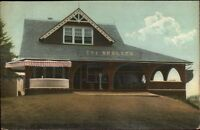 Cheshire CT The Shelter c1910 Postcard