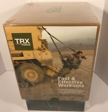 TRX Force Kit: Tactical Training Home Gym Resistance Suspension Training -Sealed