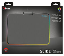TRUST 21802 GXT760 GAME GAMING MOUSE PAD MAT 350MM X 250MM, ILLUMINATED EDGES