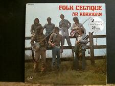 FOLK CELTIQUE  Ar Korrigan  DBL LP    French Folk   RARE !!