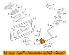 AUDI OEM 04-09 A4 Quattro Front Door-Lock Latch Kit 8E1837016AB