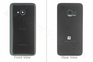 HTC U11 Life Replacement Back Battery Cover Black - 74H03407-04M w/ Camera Lens