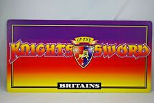 BRITAINS Famous KNIGHTS of The SWORD DEALER / Collector SHOP DISPLAY SIGN VGC
