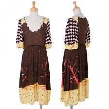 TSUMORI CHISATO Print Dress Size 2(K-49204)